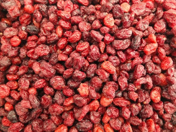 getrocknete Cranberrys